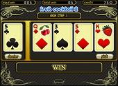 Номер попытки отображается на экране.  Игрок может прекратить риск игру и.